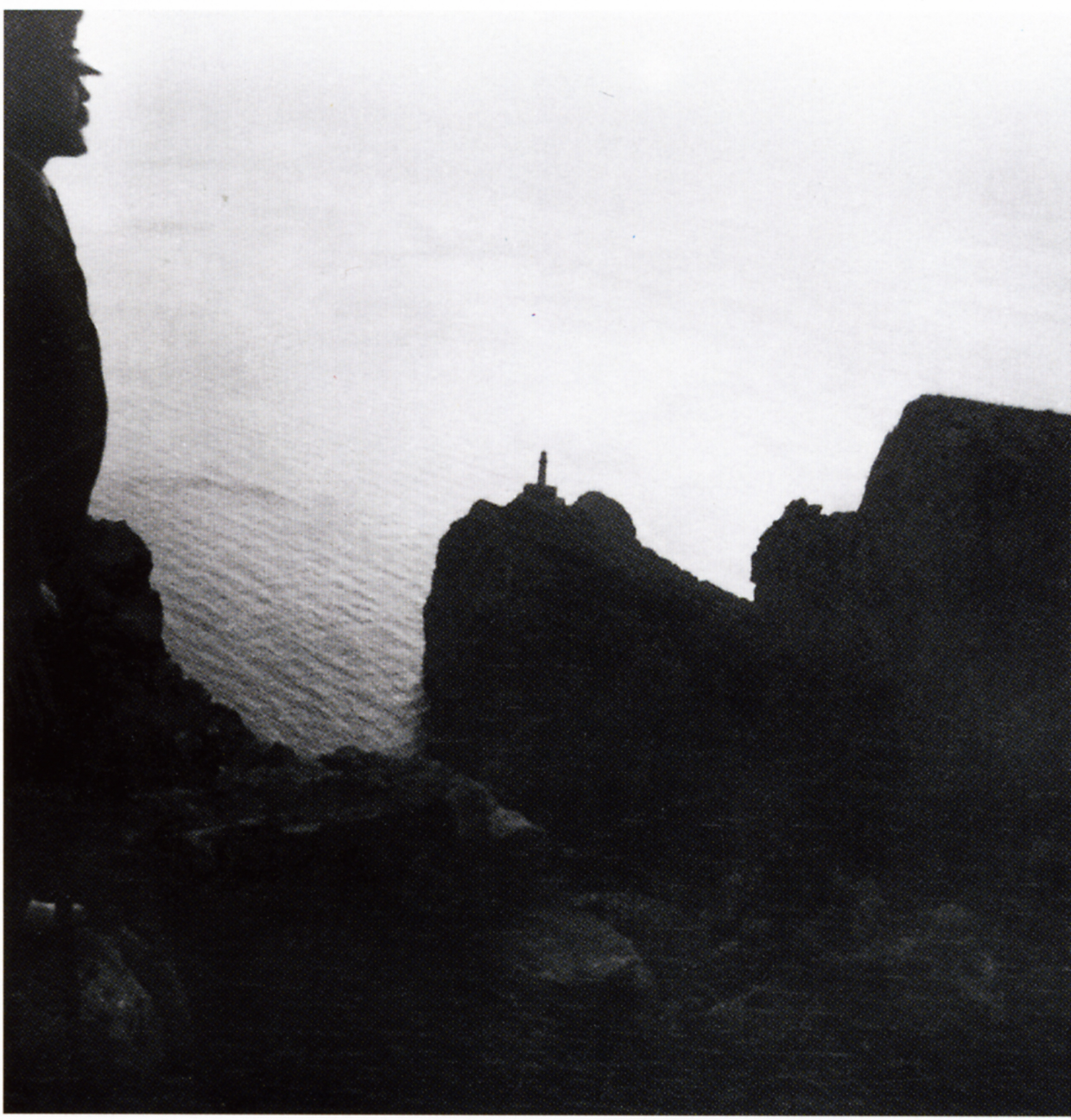 Axel Munthe overlooking the light house at Capri