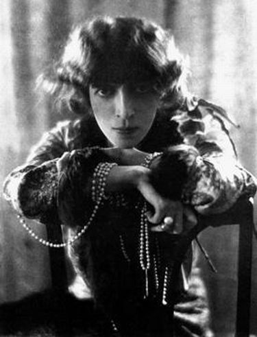 Marchesa Luisa Casati Stampa who rented Villa San Michele during the 1920's